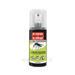 Acheter Cinq sur Cinq Zones Tempérées Lotion anti-moustique 100ml à LE LAVANDOU