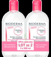 Crealine Ts H2o Solution Micellaire Sans Parfum Nettoyante Apaisante 2fl/500ml à LE LAVANDOU