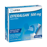 Efferalgan 500 Mg Glé En Sachet Sach/16 à LE LAVANDOU