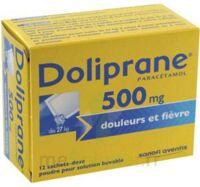 Doliprane 500 Mg Poudre Pour Solution Buvable En Sachet-dose B/12 à LE LAVANDOU