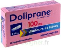 Doliprane 100 Mg Suppositoires Sécables 2plq/5 (10) à LE LAVANDOU