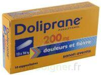 Doliprane 200 Mg Suppositoires 2plq/5 (10) à LE LAVANDOU