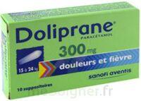 Doliprane 300 Mg Suppositoires 2plq/5 (10) à LE LAVANDOU