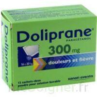 Doliprane 300 Mg Poudre Pour Solution Buvable En Sachet-dose B/12 à LE LAVANDOU