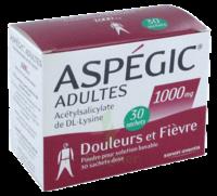 Aspegic Adultes 1000 Mg, Poudre Pour Solution Buvable En Sachet-dose 30 à LE LAVANDOU