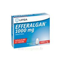 Efferalgan 1000 Mg Comprimés Pelliculés Plq/8 à LE LAVANDOU
