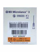 Bd Microlance 3, G25 5/8, 0,5 Mm X 16 Mm, Orange  à LE LAVANDOU