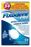 Fixodent Pro Comprimés Nettoyant Fraîcheur Longue Durée Pour Prothèse Dentaire B/54 à LE LAVANDOU