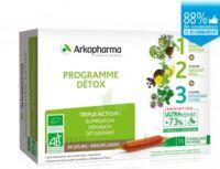 Arkofluide Bio Ultraextract Coffret Programme Détox 3x10 Ampoules/10ml à LE LAVANDOU