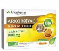 Arkoroyal Gelée Royale Bio 1000 Mg Solution Buvable 20 Ampoules/10ml à LE LAVANDOU