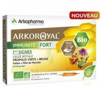 Arkoroyal Immunité Fort Solution Buvable 20 Ampoules/10ml à LE LAVANDOU