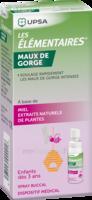Les Elementaires Spray Buccal Maux De Gorge Enfant Fl/20ml à LE LAVANDOU