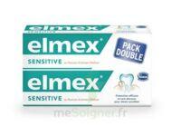 Elmex Sensitive Dentifrice, Tube 75 Ml, Pack 2 à LE LAVANDOU