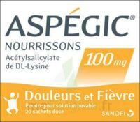 Aspegic Nourrissons 100 Mg, Poudre Pour Solution Buvable En Sachet-dose à LE LAVANDOU