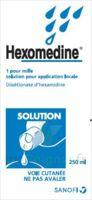 Hexomedine 1 Pour Mille S Appl Loc Fl/250ml à LE LAVANDOU