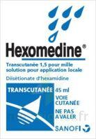 Hexomedine Transcutanee 1,5 Pour Mille, Solution Pour Application Locale à LE LAVANDOU