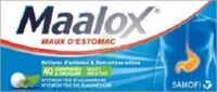 Maalox Hydroxyde D'aluminium/hydroxyde De Magnesium 400 Mg/400 Mg Cpr à Croquer Maux D'estomac Plq/40 à LE LAVANDOU