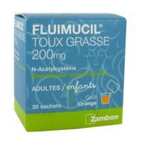 Fluimucil Expectorant Acetylcysteine 200 Mg Sans Sucre, Granulés Pour Solution Buvable En Sachet édulcorés à L'aspartam Et Au Sorbitol à LE LAVANDOU