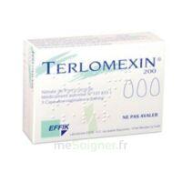 Terlomexin 200 Mg, Capsule Molle Vaginale à LE LAVANDOU