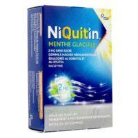Niquitin 2 Mg Gom à Mâcher Médic Menthe Glaciale Sans Sucre Plq Pvc/pvdc/alu/30 à LE LAVANDOU