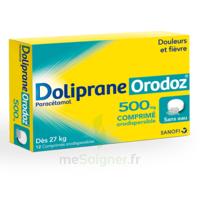 Dolipraneorodoz 500 Mg, Comprimé Orodispersible à LE LAVANDOU