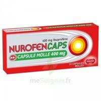 Nurofencaps 400 Mg Caps Molle Plq/10 à LE LAVANDOU