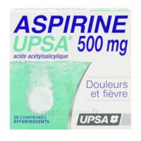Aspirine Upsa 500 Mg, Comprimé Effervescent à LE LAVANDOU