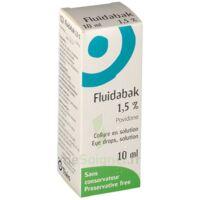 Fluidabak 1,5 %, Collyre En Solution à LE LAVANDOU
