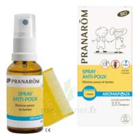 Pranarôm Aromapoux Bio Spray Anti-poux 30ml+peigne à LE LAVANDOU