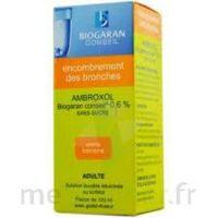 Ambroxol Biogaran Conseil 0,6 % Solution Buvable Sans Sucre édulcorée Au Sorbitol Fl/100ml+godet à LE LAVANDOU