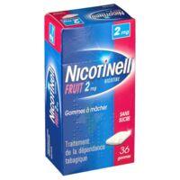 Nicotinell Fruit 2 Mg Sans Sucre, Gomme à Mâcher Médicamenteuse Plaq/36gom à LE LAVANDOU