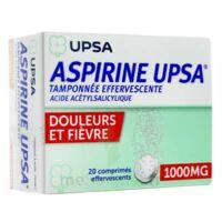 Aspirine Upsa Tamponnee Effervescente 1000 Mg, Comprimé Effervescent à LE LAVANDOU