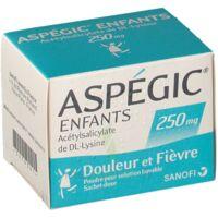 Aspegic Enfants 250, Poudre Pour Solution Buvable En Sachet-dose à LE LAVANDOU
