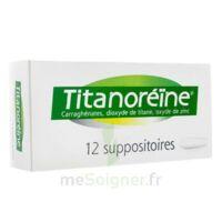 Titanoreine Suppositoires B/12 à LE LAVANDOU