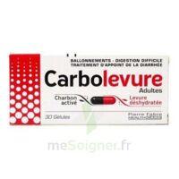 Carbolevure Gélules Adulte Plq/30 à LE LAVANDOU