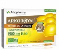 Arkoroyal Gelée Royale Bio 1500 Mg Solution Buvable 20 Ampoules/10ml à LE LAVANDOU