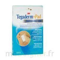 Tegaderm + Pad, 9 Cm X 10 Cm , Bt 10 à LE LAVANDOU