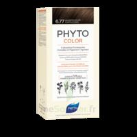 Phytocolor Kit Coloration Permanente 6.77 Marron Clair Cappuccino à LE LAVANDOU