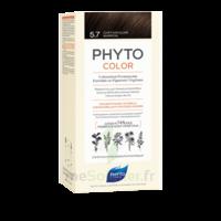 Phytocolor Kit Coloration Permanente 5.7 Châtain Clair Marron à LE LAVANDOU