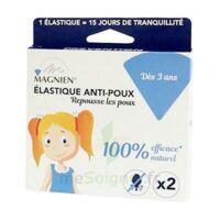 Magnien Elastique Anti-poux B/2 à LE LAVANDOU
