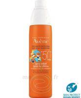 Avène Eau Thermale Solaire Spray Enfant 50+ 200ml à LE LAVANDOU