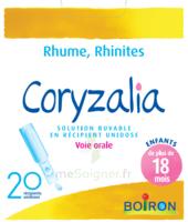 Boiron Coryzalia Solution Buvable Unidose B/20 à LE LAVANDOU
