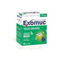 Exomuc 200 Mg, Granulés Pour Usage Oral En Sachet 15 Sachets/2g à LE LAVANDOU