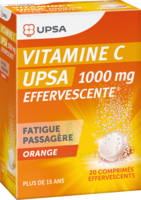 Vitamine C Upsa Effervescente 1000 Mg, Comprimé Effervescent à LE LAVANDOU