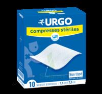 Urgo Compresse Stérile Non Tissée 10x10cm 10 Sachets/2 à LE LAVANDOU